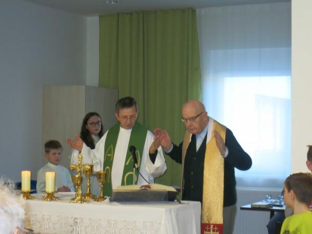 Heilige Messe mit dem Kinderchor aus Ysper