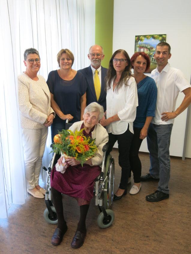 Erster 100. Geburtstag im Pflegezentrum Yspertal