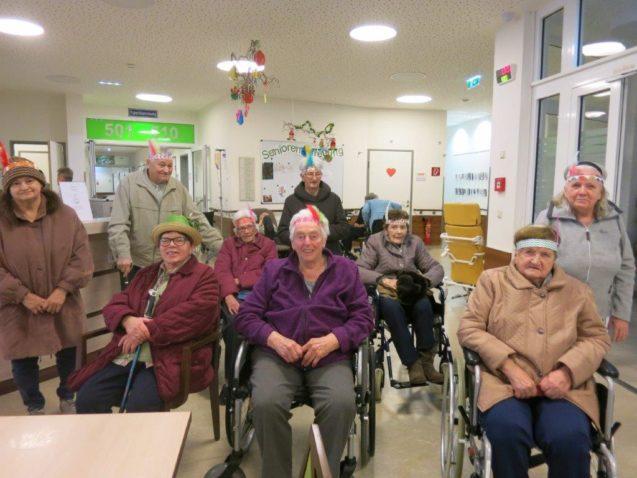Besuch des Faschingskränzchens des Pensionistenverbandes Yspertal