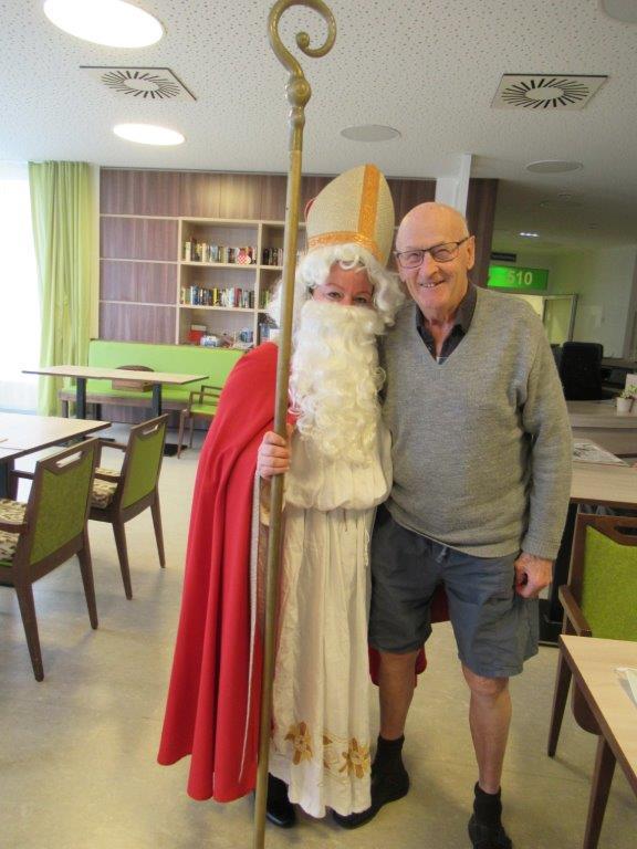 Nikolaus kommt ins Haus