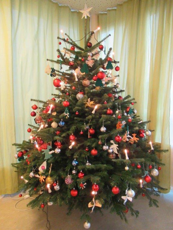 Weihnachtsfeier der Bewohnerinnen und Bewohner