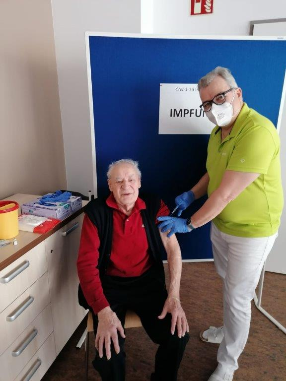 Das Pflegezentrum Yspertal hat geimpft